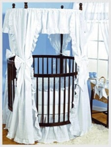 Baby-Doll-Bedding-Carnation-Eyelet-Round-Crib-Bedding-Set