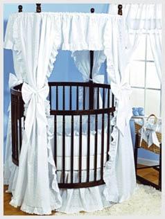 Baby-Doll-Bedding-Carnation-Eyelet-Round-Crib-Bedding-Set