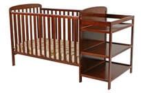 Crib-and-Changing-Table-Combo