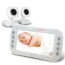 The Best Dual Baby Monitor 2018 : 2 Handpicked Choices