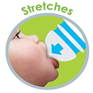 Munchkin Latch BPA-Free Baby Bottle pumps like a natural breast