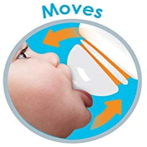 Nipples of Munchkin Latch BPA-Free Baby Bottles also mimics that of a woman's breast making it easier for baby to latch while preventing colic, gas, spit-up