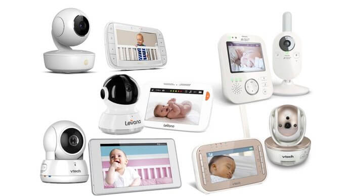 """Ubbcare Digital Video Baby Monitor with 3.5/"""" screen Night Vision Temperature"""