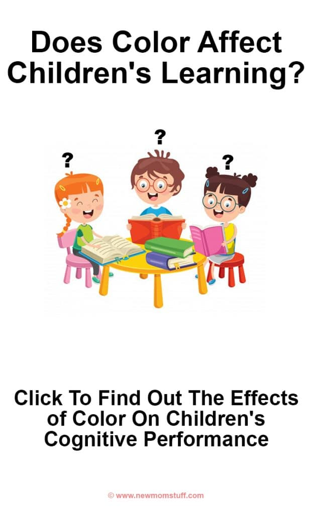 Does color affect children's learning