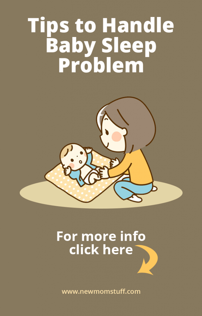 Tips to handle baby sleep problem