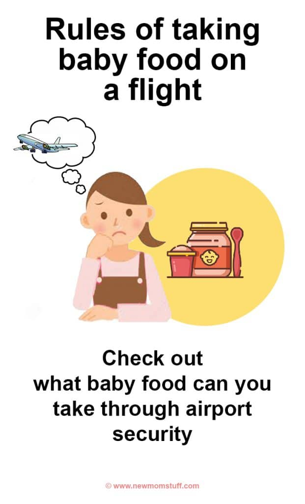 what baby food can you take through airport security! Every parent should know about bringing baby food and formula through security and baby food on flights international. Flying with baby formula powder has certain rules which you are bound to follow.